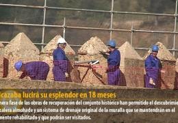 La Alcazaba lucirá su esplendor en 18 meses