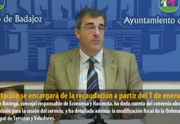 Diputación se encargará de la recaudación a partir del 1 de enero