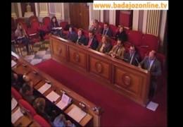 Pleno de Diciembre de 2010 del Ayuntamiento de Badajoz