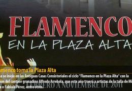El flamenco toma la Plaza Alta