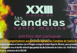 La Plaza de Conquistadores acogerá este sábado las Candelas de Santa Marina