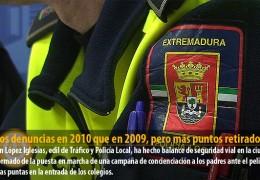 Menos denuncias en 2010 que en 2009, pero más puntos retirados