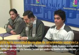 IU insiste en la necesidad de un plan de intervención social en La Uva