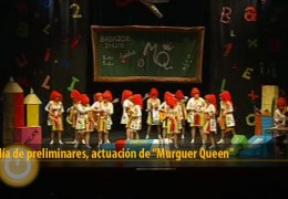 Actuación de Murguer Queen