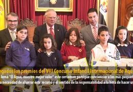 Entregados los premios del VIII Concurso Infantil Internacional de Aqualia