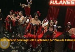 Actuación de Pixa a la Fulaneska