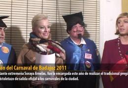 Pregón del Carnaval de Badajoz 2011