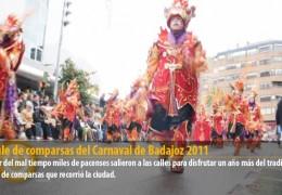 Desfile de comparsas del Carnaval de Badajoz 2011