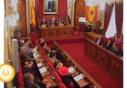 Pleno de marzo de 2011 del Ayuntamiento de Badajoz