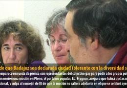IU pide que Badajoz sea declarada ciudad tolerante con la diversidad sexual
