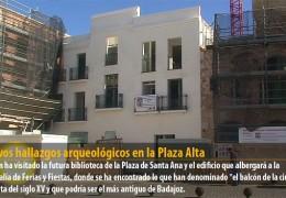 Nuevos hallazgos arqueológicos en la Plaza Alta