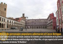 Esculturas de personajes populares adornarán el Casco Antiguo