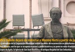 El tráfico rodado dejará de molestar a Moreno Nieto a partir de junio