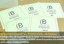 Abierta la convocatoria de los «Premios Ciudad de Badajoz»