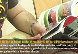 El GMS-R edita un folleto con las obras financiadas por administraciones socialistas
