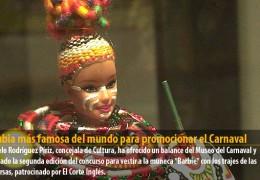 La rubia más famosa del mundo para promocionar el Carnaval