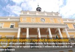 «Tenemos absoluta liquidez y capacidad de endeudamiento para hacer frente a cualquier obligacion»