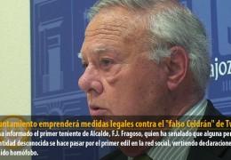 El Ayuntamiento emprenderá medidas legales contra el «falso Celdrán» de Twitter