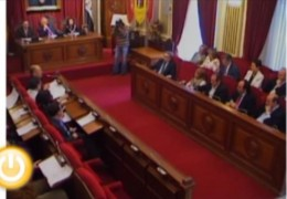 Pleno de abril de 2011 del Ayuntamiento de Badajoz