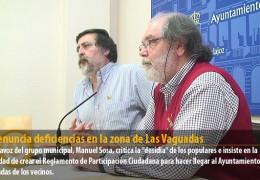 IU denuncia deficiencias en la zona de Las Vaguadas