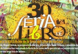 Arranca la XXX Edición de la Feria del Libro de Badajoz