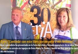 Pilar Eyre: «Continué con este libro por respeto a mis lectores»