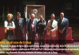 Ecuextre, en el coso de Lisboa
