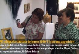 La UPB celebra la clausura del curso 2010/11 con una exposición