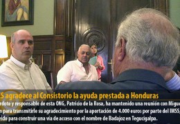 ACOES agradece al Consistorio la ayuda prestada a Honduras