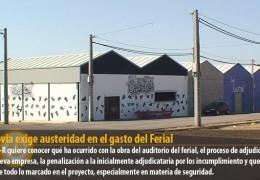 Segovia exige austeridad en el gasto del Ferial