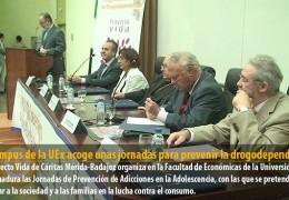El Campus de la UEx acoge unas jornadas para prevenir la drogodependencia