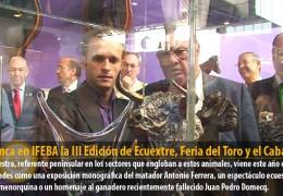 Arranca en IFEBA la III Edición de Ecuextre, Feria del Toro y el Caballo