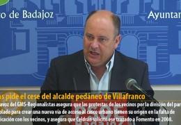 Vegas pide el cese del alcalde pedáneo de Villafranco