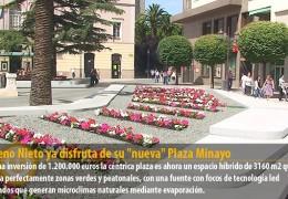 Moreno Nieto ya disfruta de su «nueva» Plaza Minayo