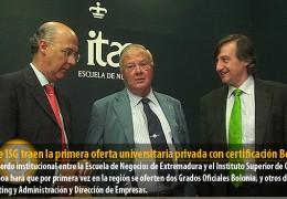 ITAE e ISG traen la primera oferta universitaria privada con certificación Bolonia