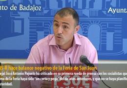 El GMS-R hace balance negativo de la Feria de San Juan