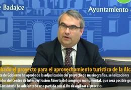 Aprobado el proyecto para el aprovechamiento turístico de la Alcazaba