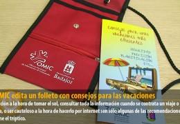 La OMIC edita un folleto con consejos para las vacaciones