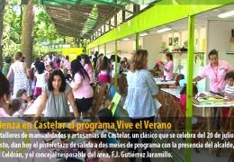 Comienza en Castelar el programa Vive el Verano