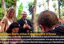 Fragoso y Rosa Álvarez visitan el programa Vive el Verano