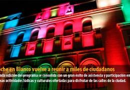 La Noche en Blanco vuelve a reunir a miles de ciudadanos