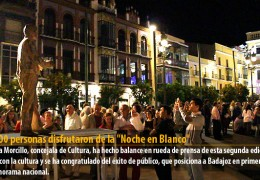 70.000 personas disfrutaron de la «Noche en Blanco»