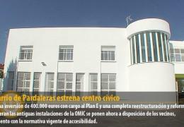 El barrio de Pardaleras estrena centro cívico