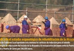 Adjudicado el estudio arqueológico de rehabilitación de la Alcazaba