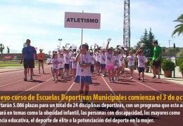 El nuevo curso de Escuelas Deportivas Municipales comienza el 3 de octubre