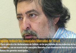 IU propone reducir los concejales liberados de 10 a 4