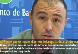 El GMS-R pide que se regule el acceso de la oposición a la información