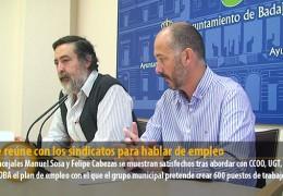 IU se reúne con los sindicatos para hablar de empleo