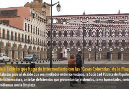 IU pide a Celdrán que haga de intermediario con las `Casas Coloradas´ de la Plaza Alta
