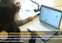 Cementerios estrena página web el 2 noviembre